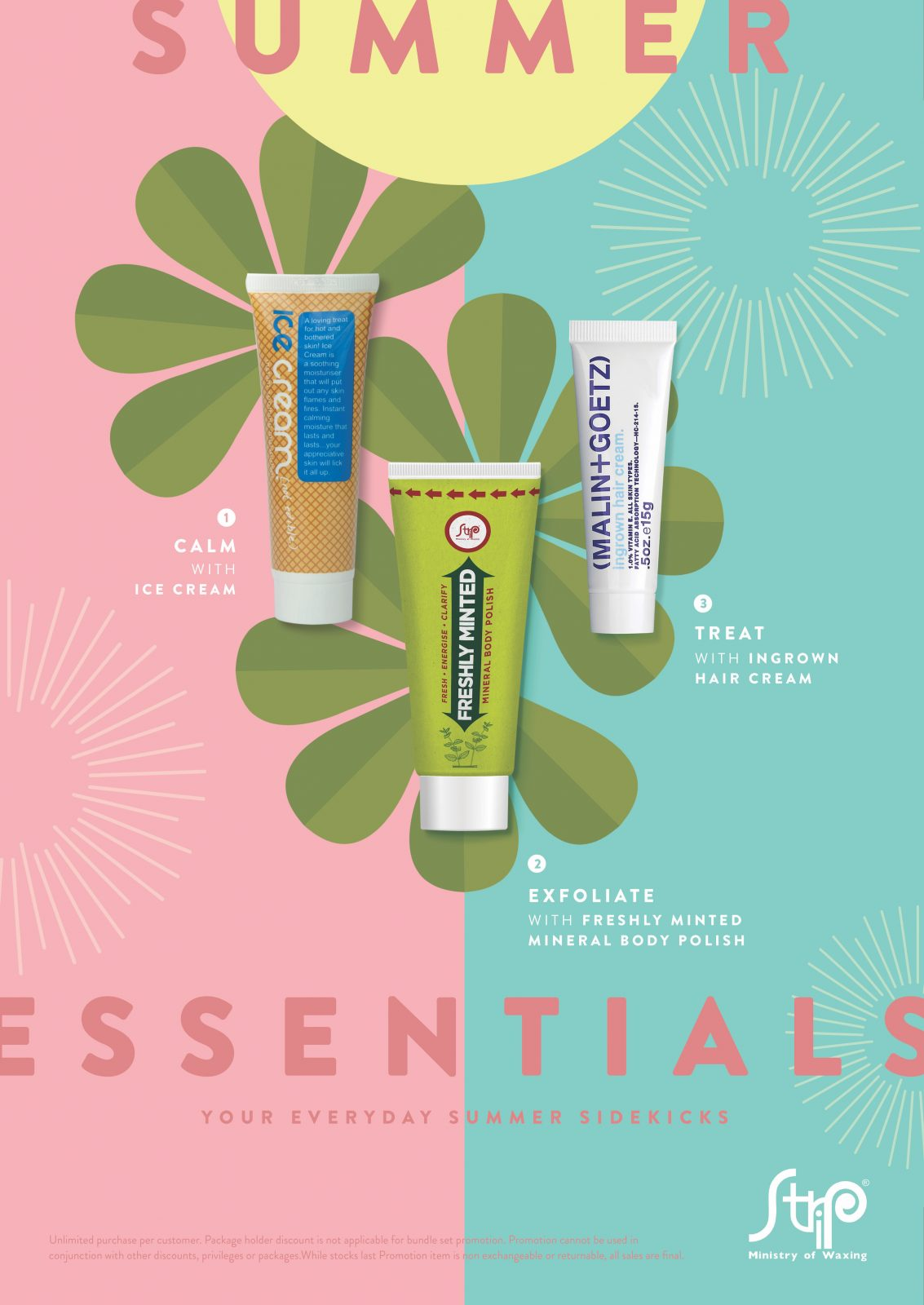 Kick off the summer with our Summer Essentials! Together with the limited  edition Freshly Minted Mineral Polish – a foaming gel scrub containing  natural ...