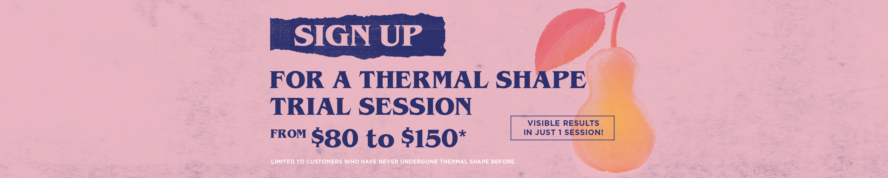 ThermalShape Lead Gen Sign Up